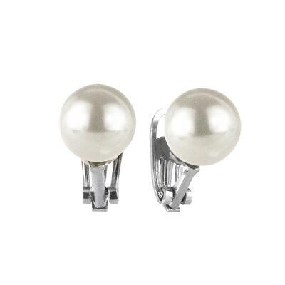 Orecchini a clip con grande perla Pearl