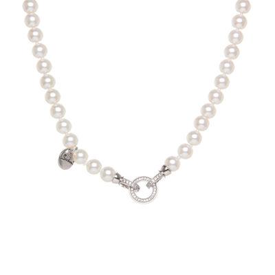 Girocollo di perle con anello Pearl