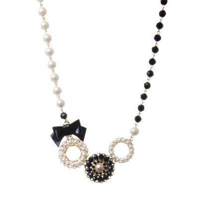 Collana con perle e boules Audrey