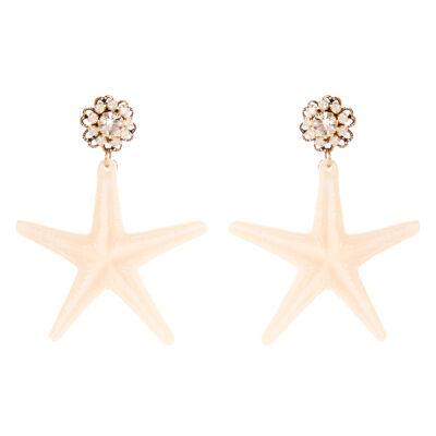 Orecchini stella marina Marea