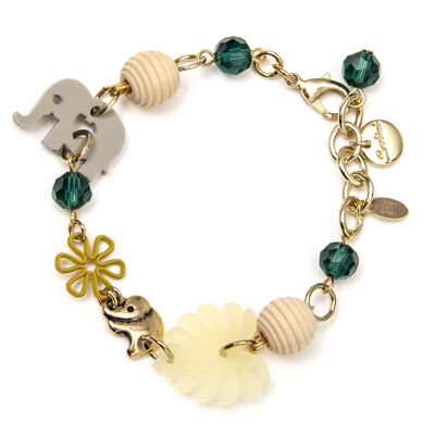 Bracciale incatenato Mangrovie