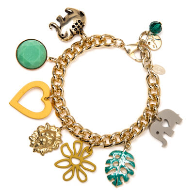 Bracciale con charms Mangrovie
