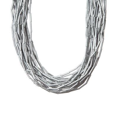 Girocollo con perline tubolari Masai