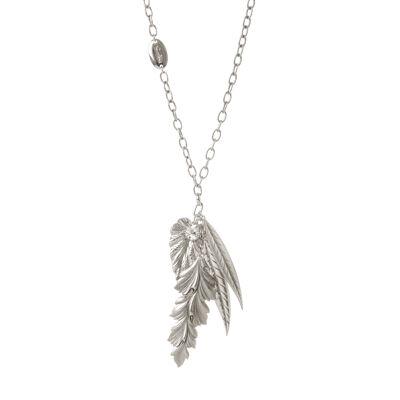 Collana con pendente a foglie Montecristo