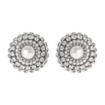 Orecchini perla e zirconi Margaretha