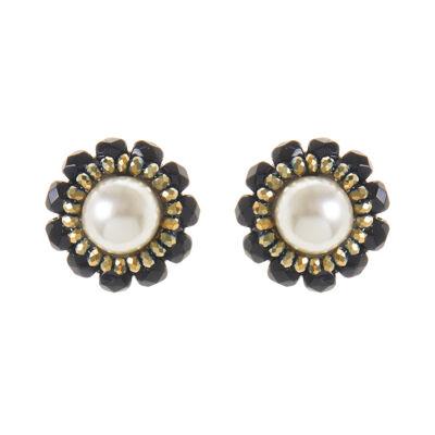 Piccoli orecchini a fiore Evita