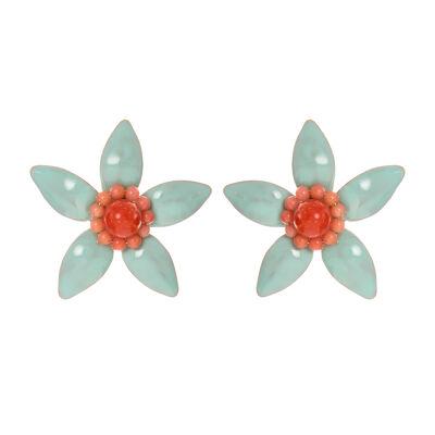 Orecchini fiorellino Zenzero