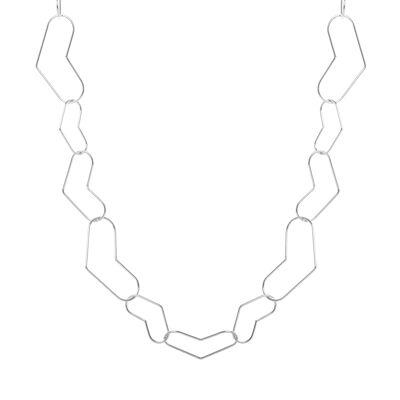 Collana con anelli a V Giglio