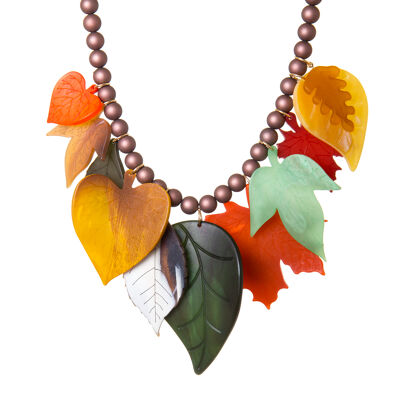 Collana con foglie Evelyn