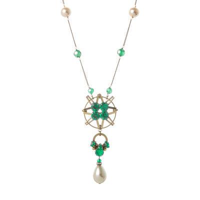 Collana splendore di cristalli e perle Moonlight