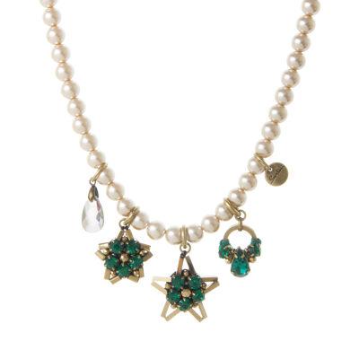 Collana di perle con charm Moonlight