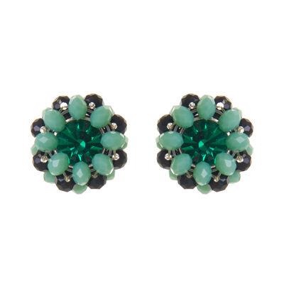 Orecchini con perline e cristallo Lucent