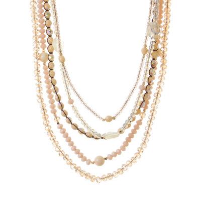 Collana multifilo con perline Ischia