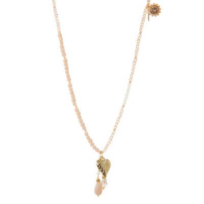 Collana di perline con pendente Ischia