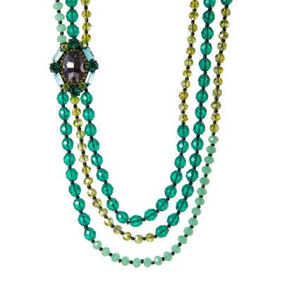 Collana di perline a tre fili Rossella
