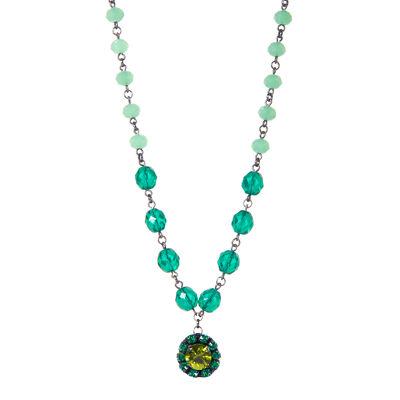 Collana di perline e pendente Rossella