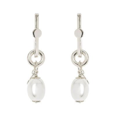 Orecchini con perla ovale Afrodite