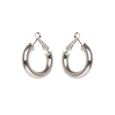 Piccoli orecchini ad anello tubolare Opera