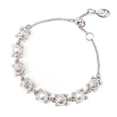 Bracciale perle e catena Elisabeth