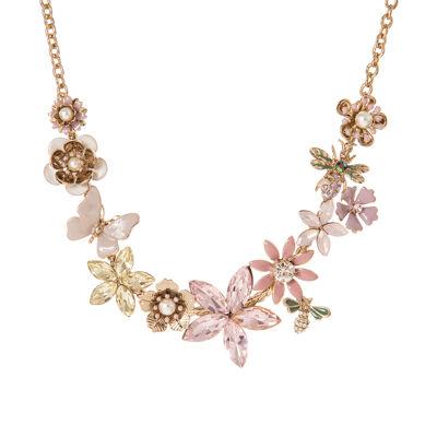 Collana fiori di primavera Clorofilla