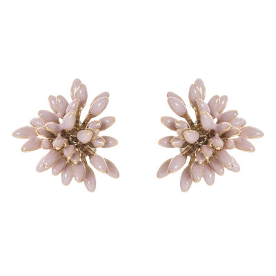 Orecchini cuor di fiore Clorofilla