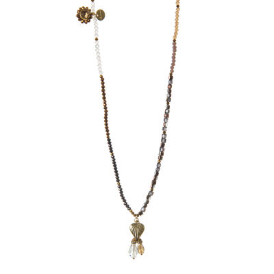 Collana lunga di perline Theodosia