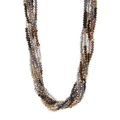 Collana multifilo di perline Theodosia