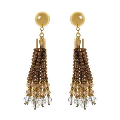 Orecchini con nappa di perline Theodosia