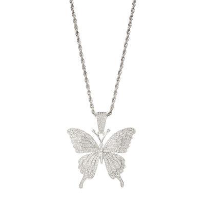 Collana con farfalla Cielo