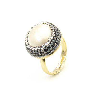 Anello con perla Festival