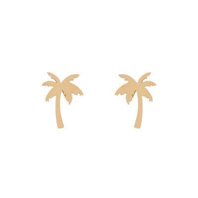 Piccoli orecchini a palma Isola