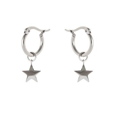 Orecchini semicerchio e stella Isola
