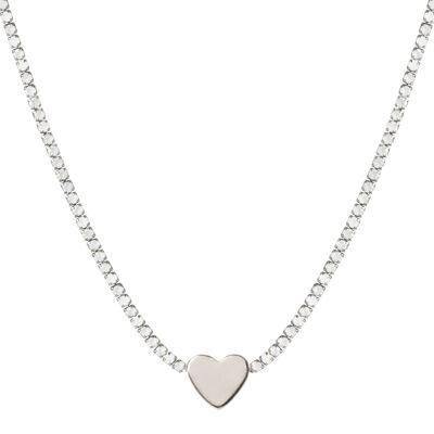 Collana di cristalli con cuore Ciak