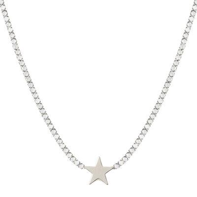 Collana di cristalli con stella Ciak