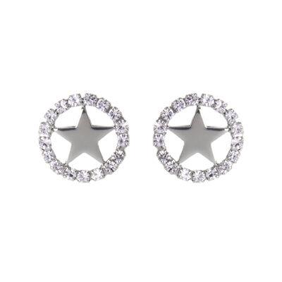 Orecchini cerchio e stella Stromboli