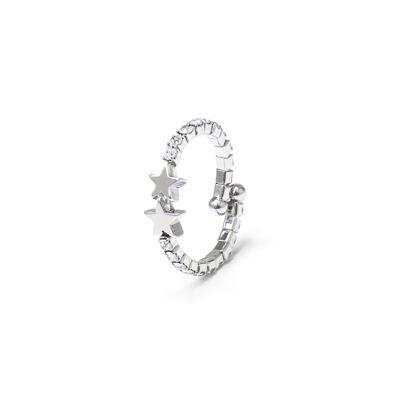 Anello con cristalli Stromboli