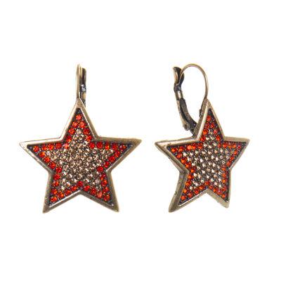 Orecchini a stella Starry