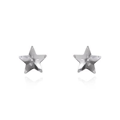 Piccoli orecchini a stella di cristallo Stardust