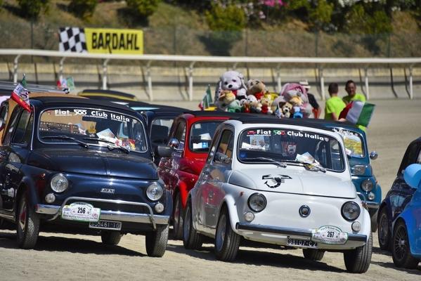 AUTO: BARDAHL AL 36° MEETING INTERNAZIONALE FIAT