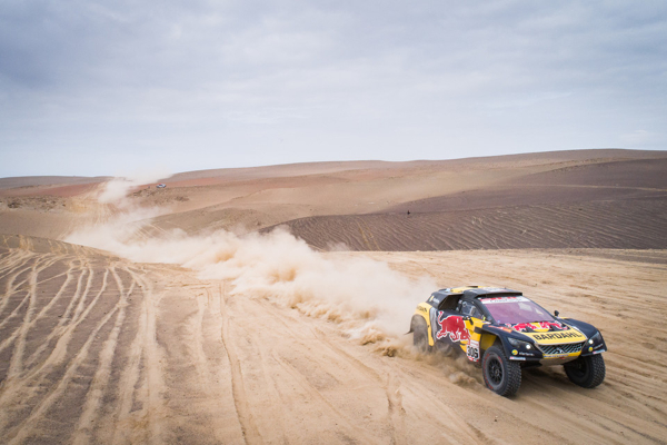 Dakar 2019 Race Report Day 3 • Loeb ed Elena per