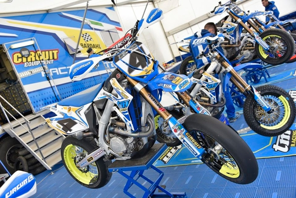 EUROPEO SUPERMOTO: DOPPIETTA TM CON THOMAS CHAREYR