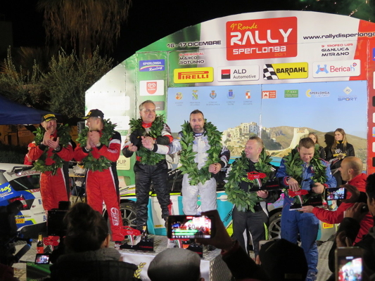 Bardahl al fianco del 9° Rally Ronde Sperlonga  v