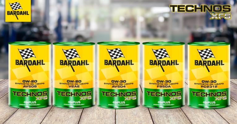 5 nuovi oli motore Technos con pacchetto di additi