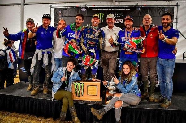Grande Italia: secondo posto nel Motocross delle N