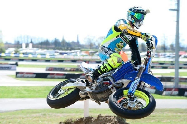 Moto Supermoto: Thomas Chareyre, pilota del TM Factory