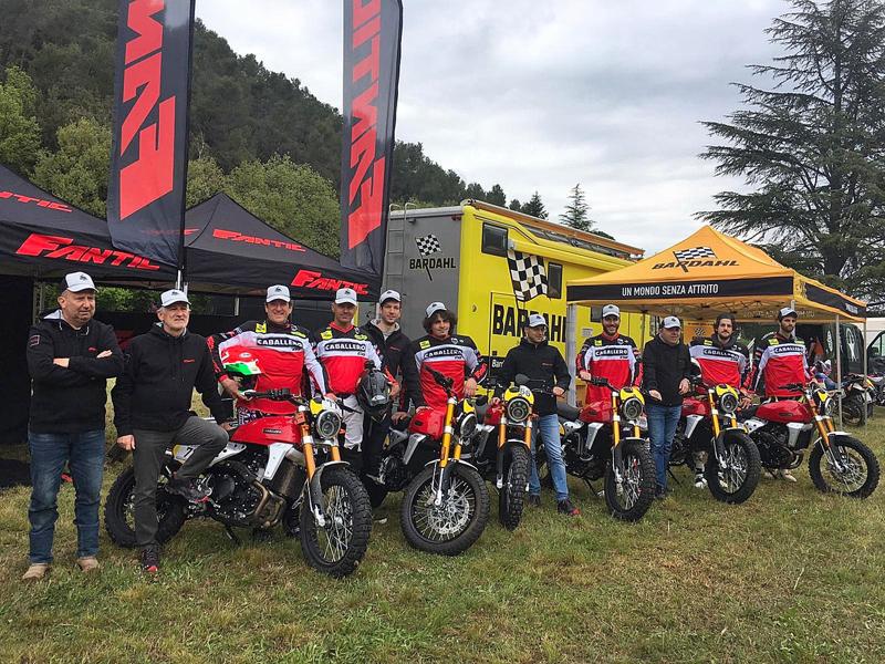 Moto Bardahl Caballero CUP • Ospiti ed emozioni a Spo