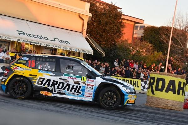 Auto ERREFFE RALLY TEAM-BARDAHL CENTRA IL PODIO DI S160