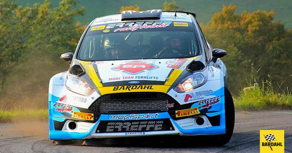 Auto Erreffe Rally Team-Bardahl si prepara ad un gran f