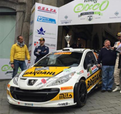 Auto Rally del Ciocco: ottima prestazione per Erreffe R