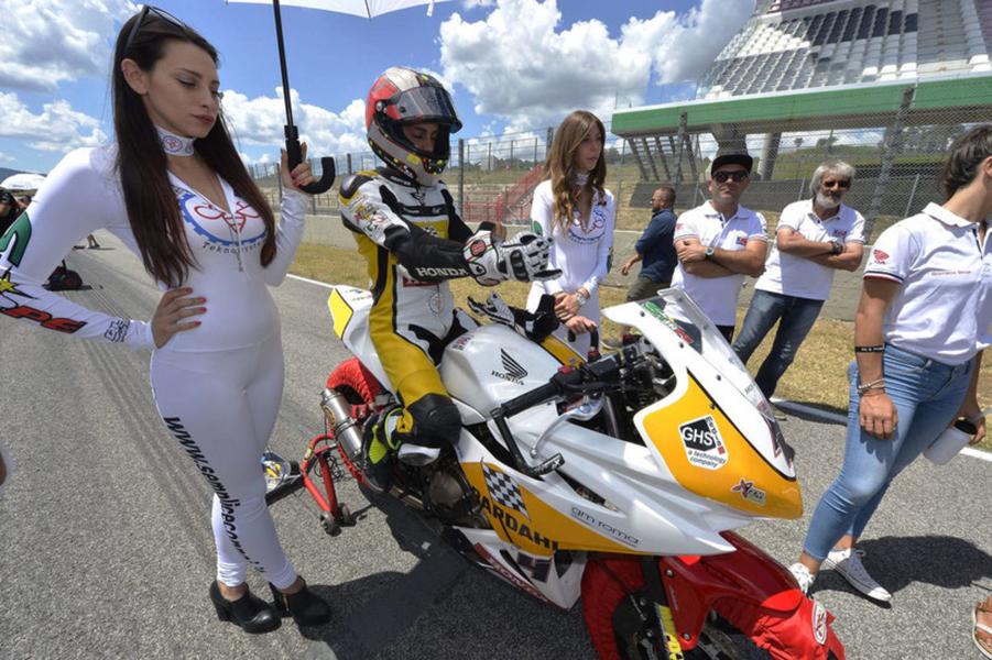 Moto Civ SS300: Giuliano Stirpe sesto nel Tricolore